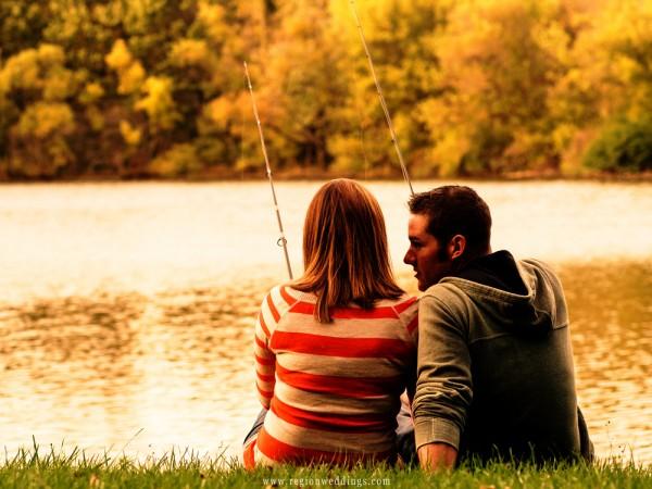 カップル 釣りデート