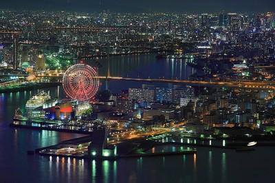 コスモタワー 夜景