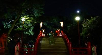 住吉大社 観月祭